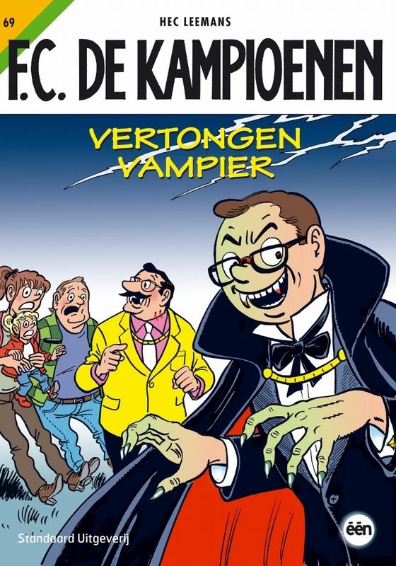 Vertongen vampier KAMPIOENEN, Leemans, H., Paperback