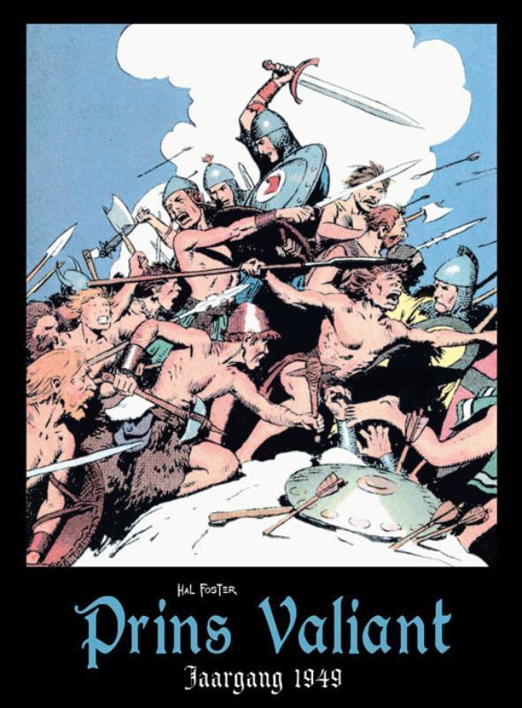 Prins Valiant: Jaargang 1949 PRINS VALIANT, FOSTER, HAROLD, Hardcover