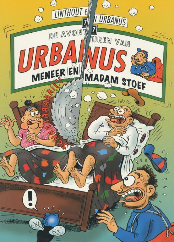 URBANUS 077. MENEER EN MADAM STOEF (HERDRUK) Urbanus, Urbanus, Paperback