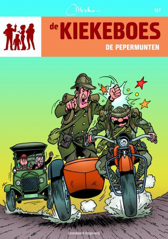 De pepermunten De Kiekeboes, Merho, Paperback