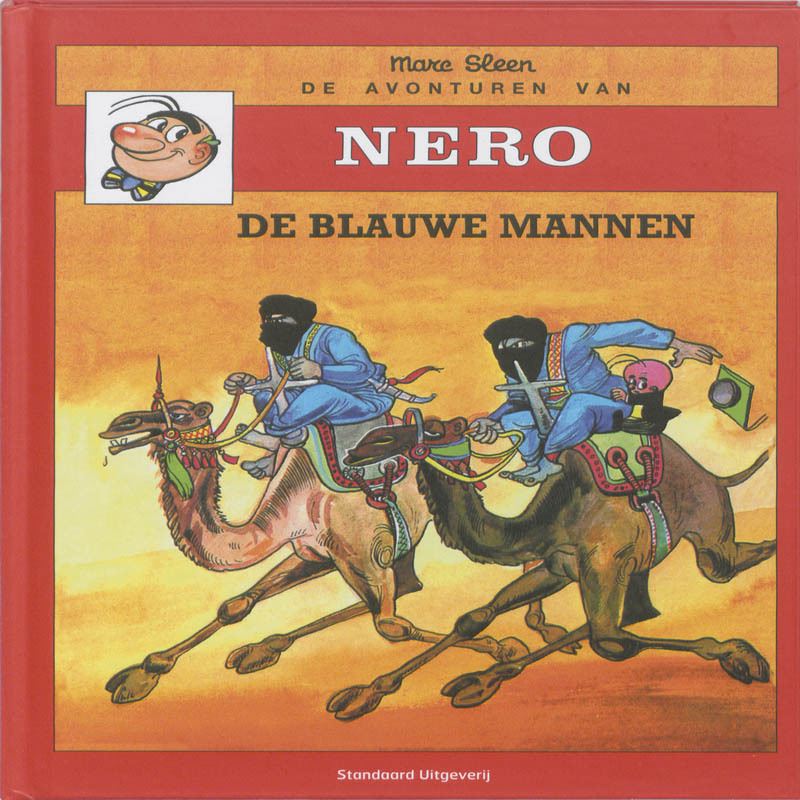 De Blauwe mannen De avonturen van Nero, Sleen, Marc, Hardcover