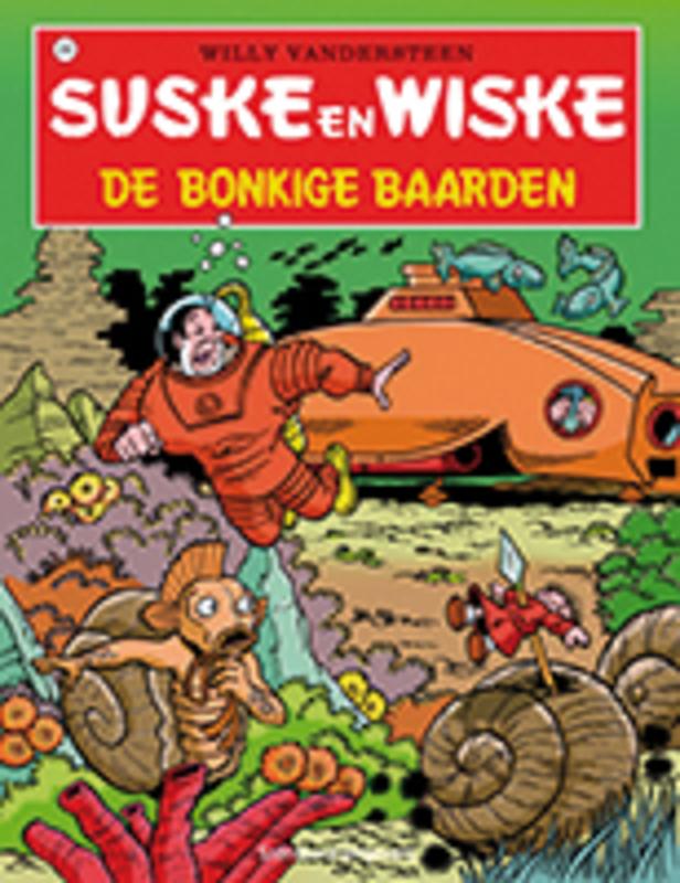 SUSKE EN WISKE 206. DE BONKIGE BAARDEN (NIEUWE COVER) SUSKE EN WISKE, Vandersteen, Willy, Paperback