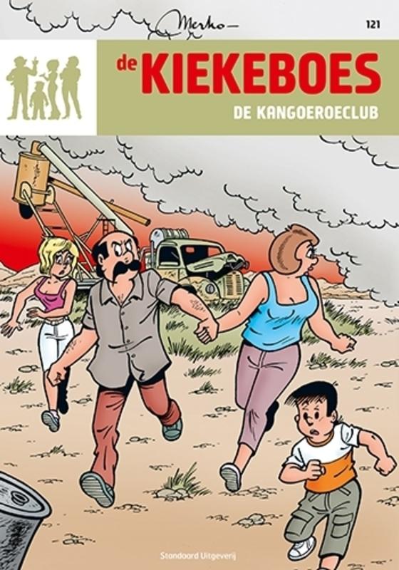 KIEKEBOES DE 121. DE KANGOEROECLUB KIEKEBOES DE, Merho, Paperback