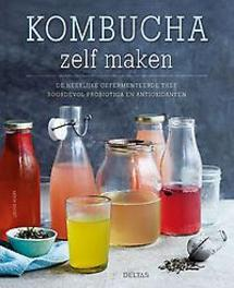 Kombucha zelf maken. De heerlijke gefermenteerde thee boordevol probiotica en antioxidanten, AVERY,