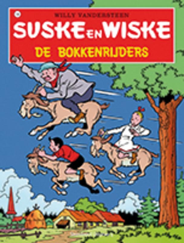 SUSKE EN WISKE 136. DE BOKKENRIJDERS (NIEUWE COVER) Suske en Wiske, Willy Vandersteen, Paperback