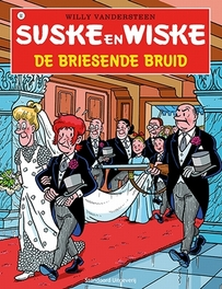 De briesende bruid Suske en Wiske, Willy Vandersteen, Paperback