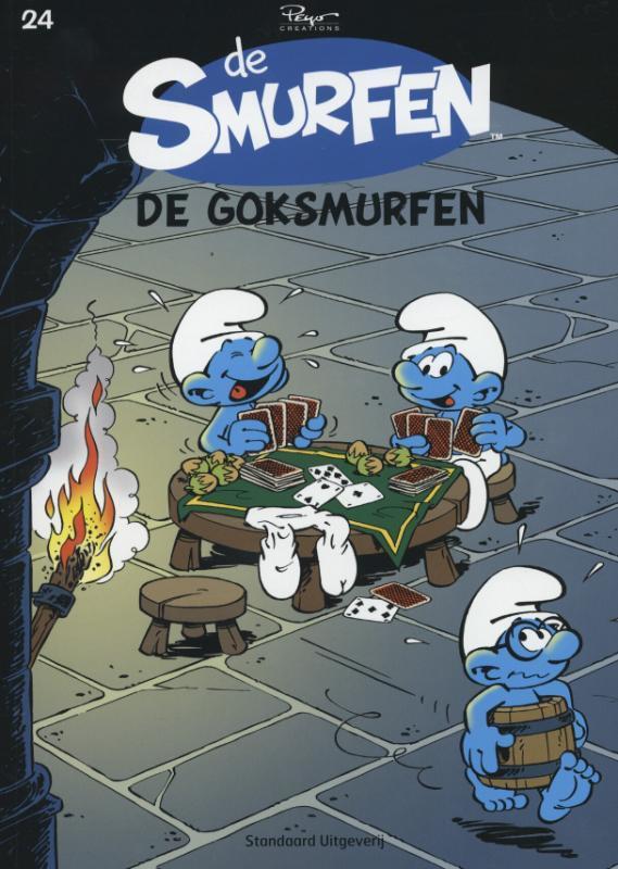 De goksmurfen SMURFEN, Peyo, Paperback