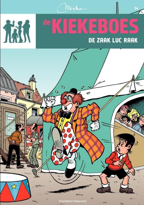 De zaak Luc Raak De Kiekeboes, Merho, Paperback