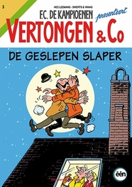 De geslepen slaper Vertongen & C, Wim Swerts, Paperback