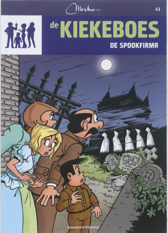 De spookfirma De Kiekeboes, Merho, Paperback