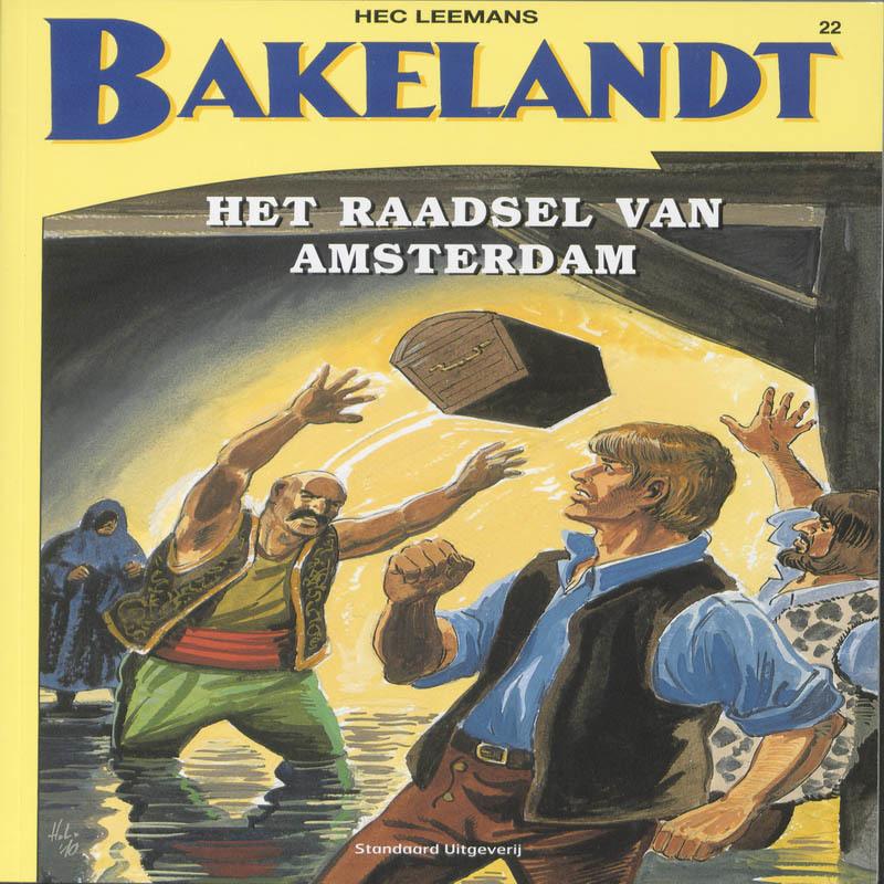 Het raadsel van Amsterdam BAKELANDT, Hec Leemans, Paperback