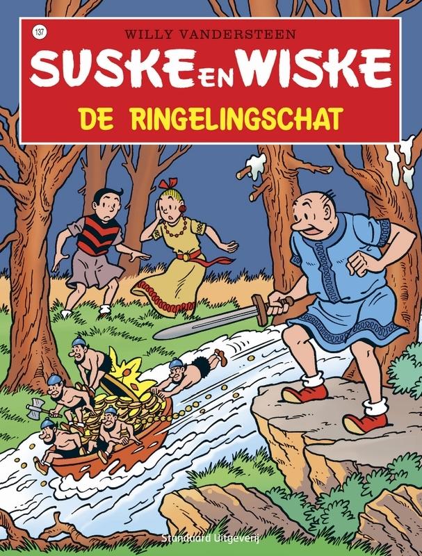 SUSKE EN WISKE 137. DE RINGELINGSCHAT (NIEUWE COVER) Suske en Wiske, Willy Vandersteen, Paperback
