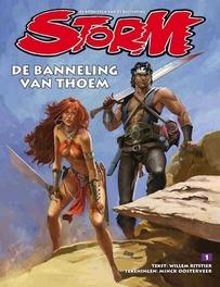 De banneling van Thoem Storm De kronieken van de buitenring, Ritstier, Willem, Hardcover
