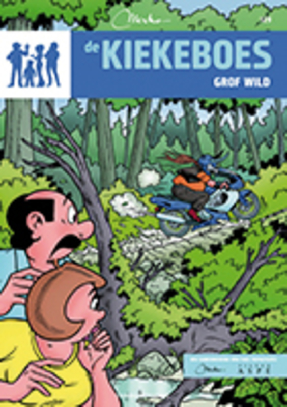 Grof wild KIEKEBOES DE, Merho, Paperback