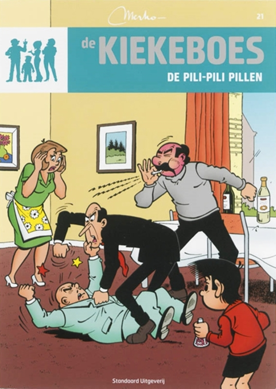 De pili-pili pillen KIEKEBOES DE, Merho, Paperback