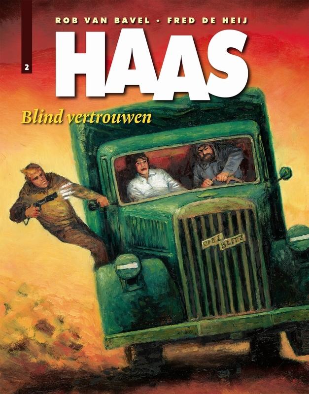 Blind vertrouwen HAAS, Fred De Heij, Paperback