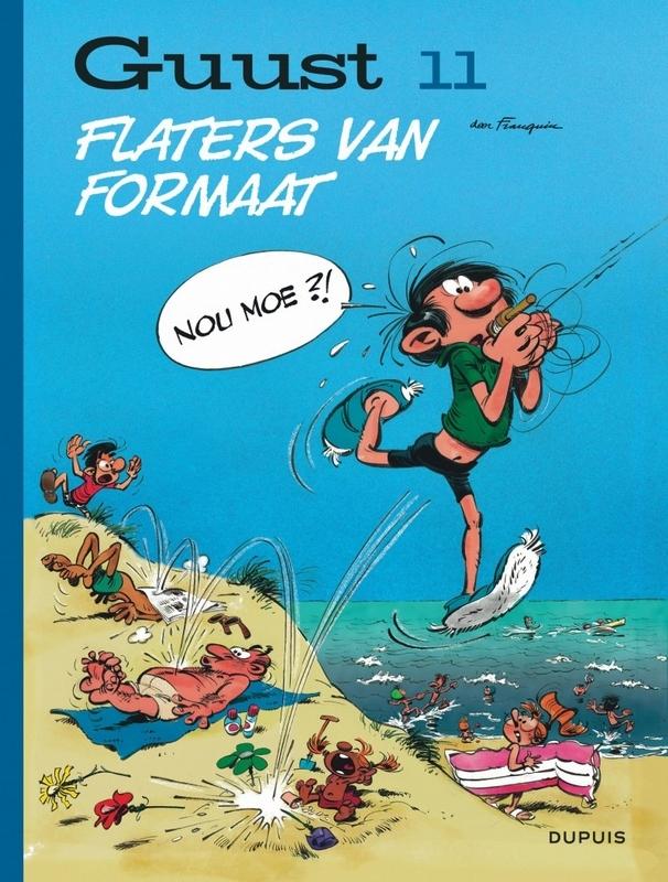GUUST FLATER CHRONOLOGISCH HC11. FLATERS VAN FORMAAT GUUST FLATER CHRONOLOGISCH, Franquin, André, Hardcover