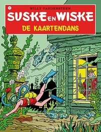 SUSKE EN WISKE 101. DE KAARTENDANS (NIEUWE COVER) Suske en Wiske, Willy Vandersteen, Paperback