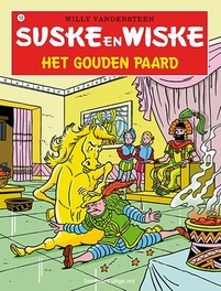 Suske en Wiske Het gouden paard Suske en Wiske, Willy Vandersteen, Paperback