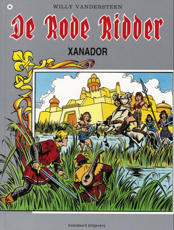 RODE RIDDER 094. XANADOR Rode Ridder, Willy Vandersteen, Paperback