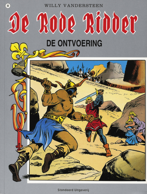 De ontvoering RODE RIDDER, Willy Vandersteen, Paperback
