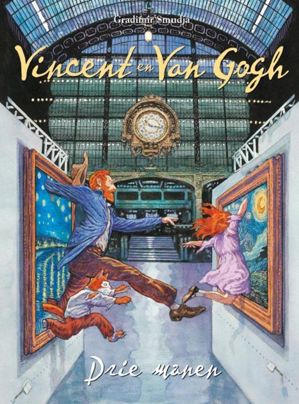 Drie manen Vincent & Van Gogh, SMUDJA G, Hardcover
