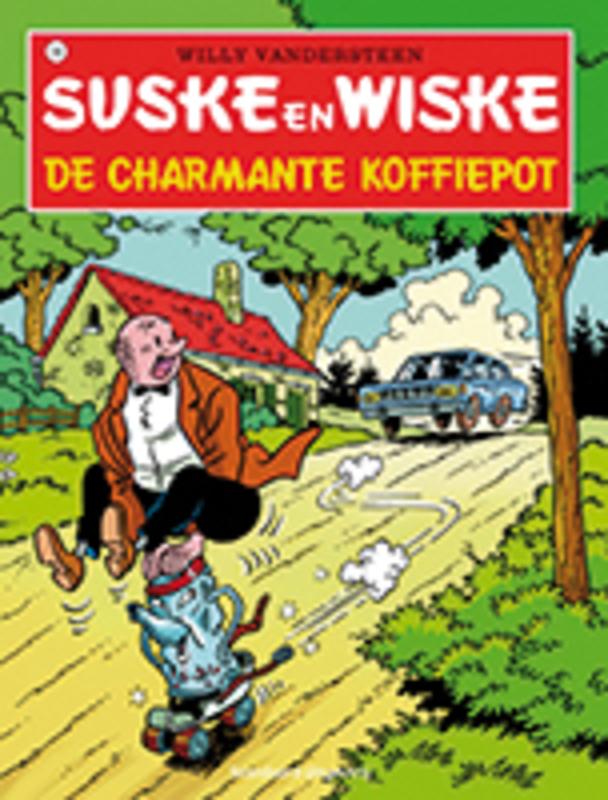 SUSKE EN WISKE 106. DE CHARMANTE KOFFIEPOT (NIEUWE COVER) Suske en Wiske, Willy Vandersteen, Paperback