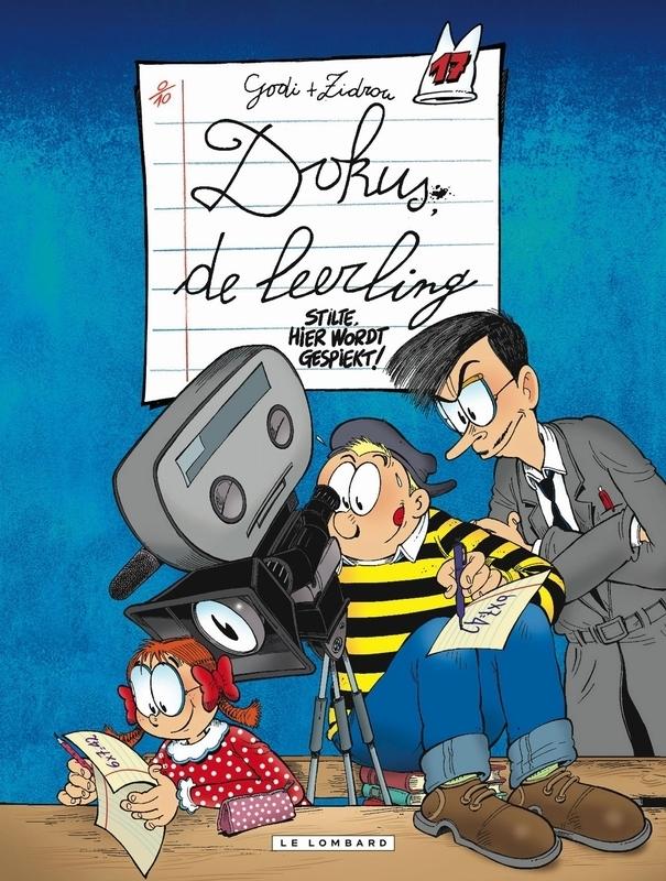 DOKUS DE LEERLING 17. STILTE, HIER WORDT GESPIEKT DOKUS DE LEERLING, GODI, BERNARD, Paperback