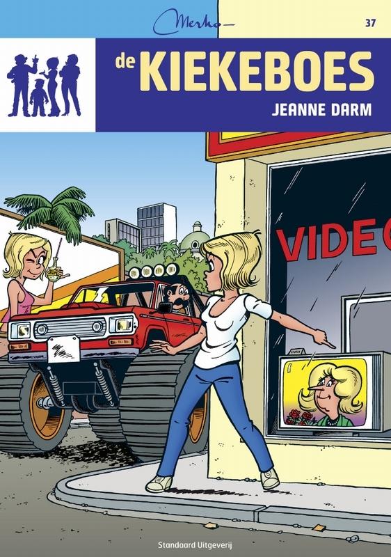 Jeanne Darm De Kiekeboes, Merho, Paperback