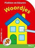 Plakken en kleuren - Woordjes