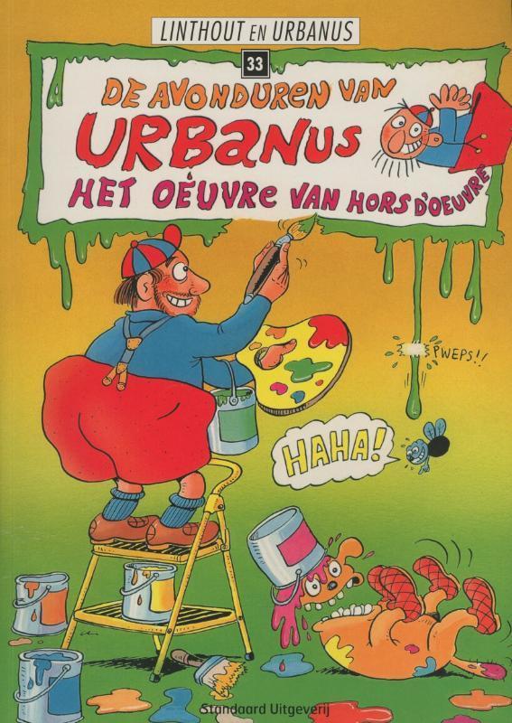 Het oeuvre van hors d'oeuvre Urbanus, Urbanus, Paperback