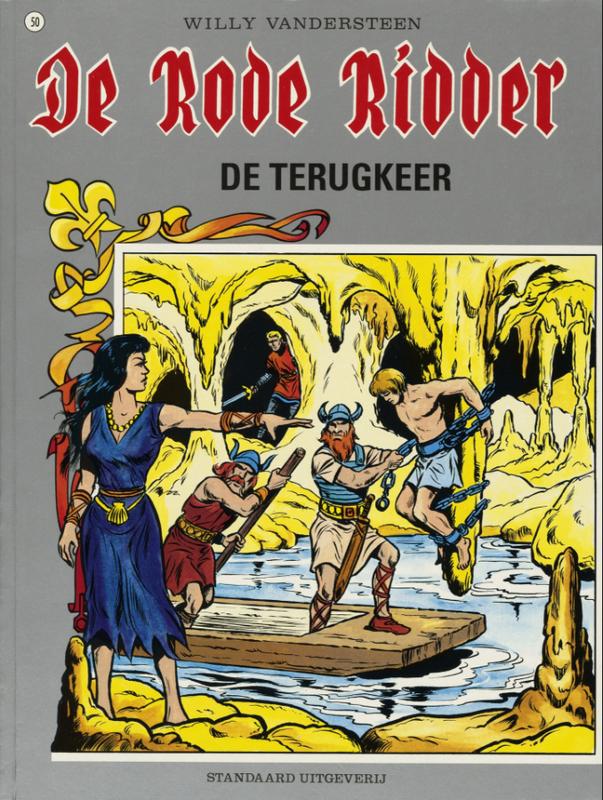 RODE RIDDER 050. DE TERUGKEER RODE RIDDER, Willy Vandersteen, Paperback