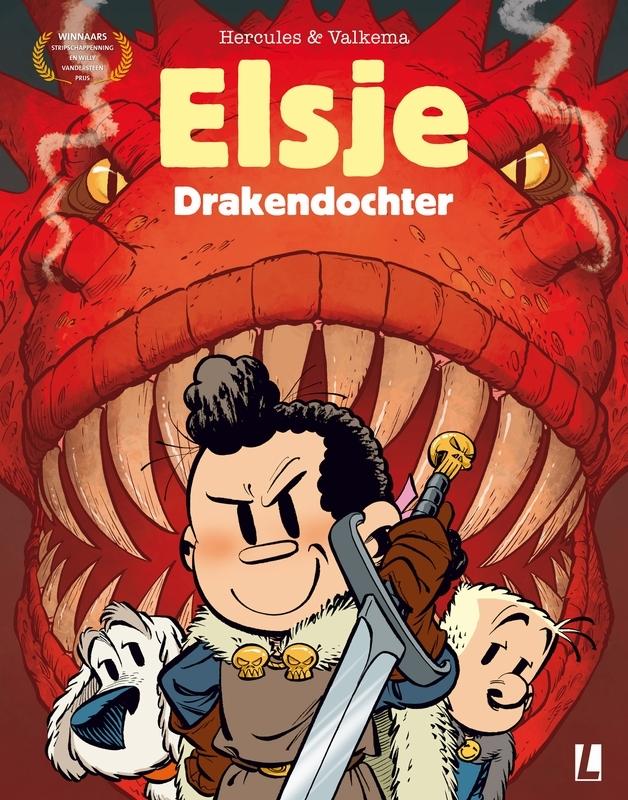 ELSJE A4 HC05. DRAKENDOCHTER ELSJE A4, Eric Hercules, Hardcover