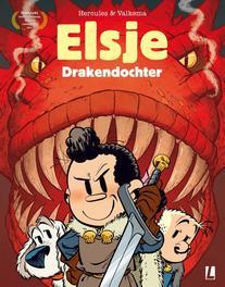 Drakendochter ELSJE A4, Gerben, Valkema, Paperback