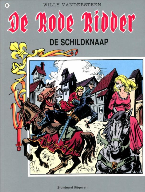 De Schildknaap Rode Ridder, Willy Vandersteen, Paperback