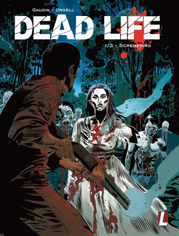 Schemering DEAD LIFE, Jean-Charles Gaudin, Hardcover