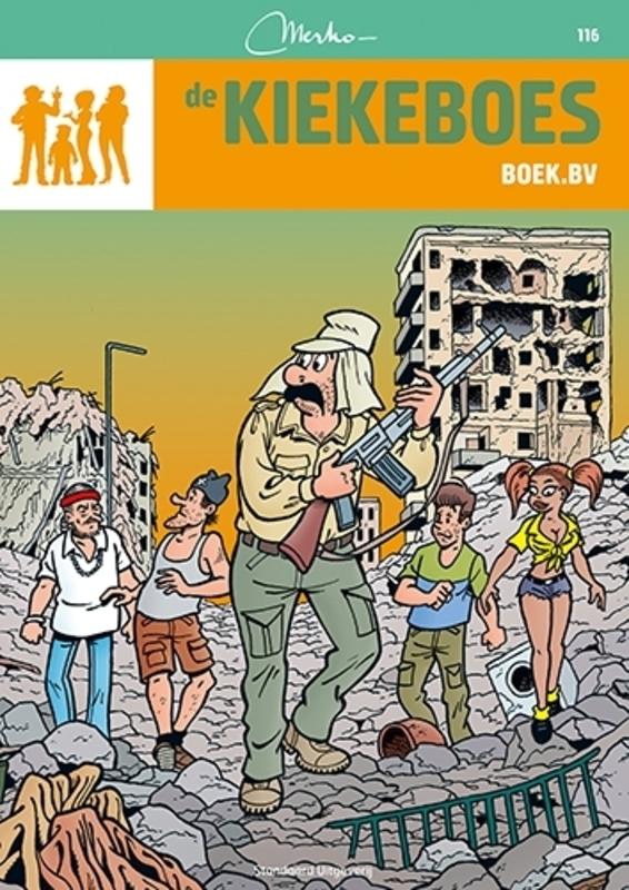 Boek.bv KIEKEBOES DE, Merho, Paperback