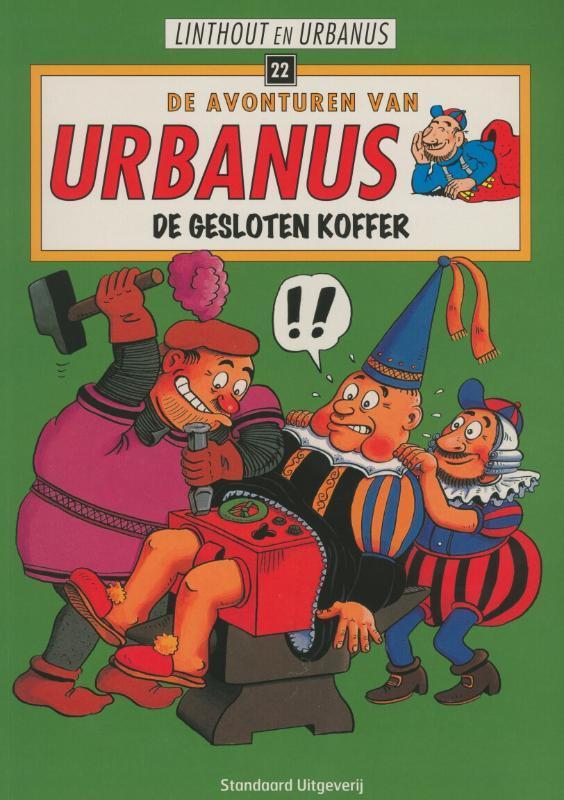 De gesloten koffer Urbanus, Linthout, Willy, Paperback