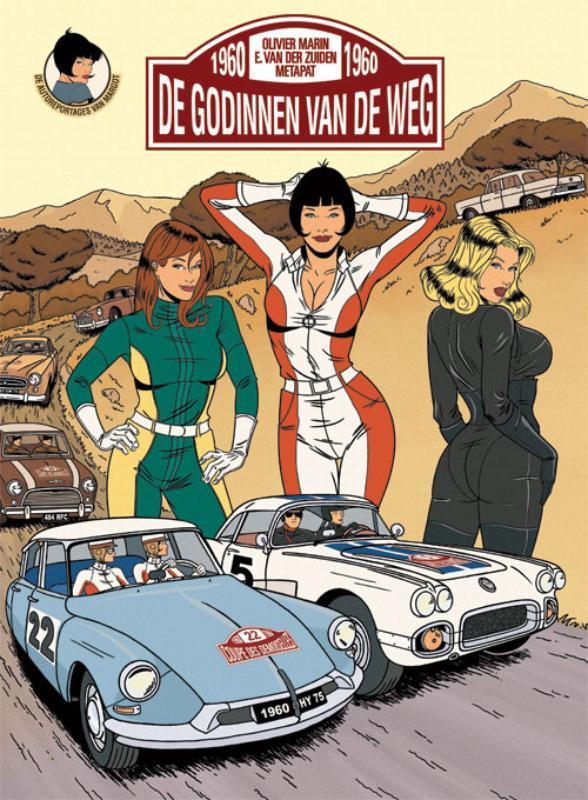 De godinnen van de weg De autoreportages van Margot, Olivier Marin, Hardcover