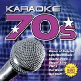 KARAOKE 70'S V/A, CD