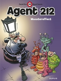 AGENT 212 28. MONSTEREFFECT Monstereffect, Cauvin, Raoul, Paperback