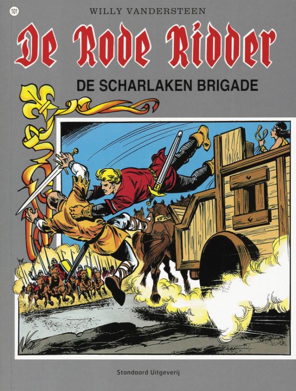 RODE RIDDER 101. DE SCHARLAKEN BRIGADE Rode Ridder, Vandersteen, Willy, Paperback