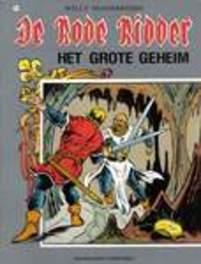 Grote geheim RODE RIDDER, Willy Vandersteen, Paperback