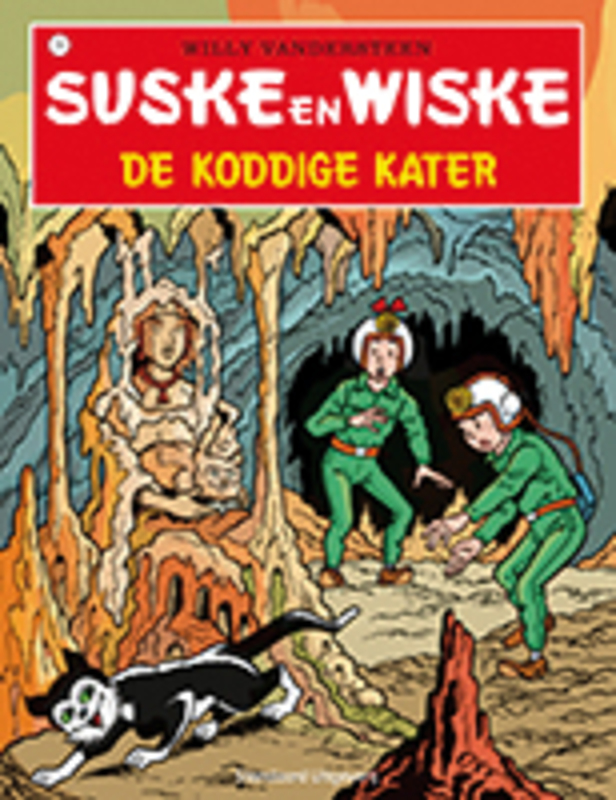 SUSKE EN WISKE 074. DE KODDIGE KATER (NIEUWE COVER) Suske en Wiske, Vandersteen, Willy, Paperback