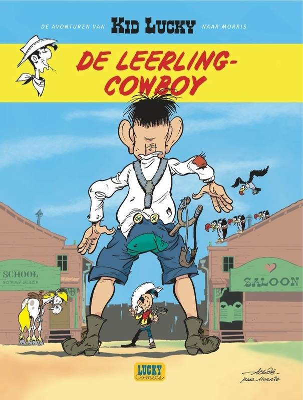 KID LUCKY 01. DE LEERLING-COWBOY KID LUCKY, Morris, Paperback