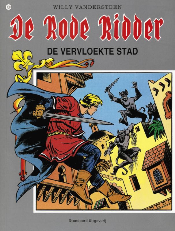 De vervloekte stad RODE RIDDER, Vandersteen, Willy, Paperback
