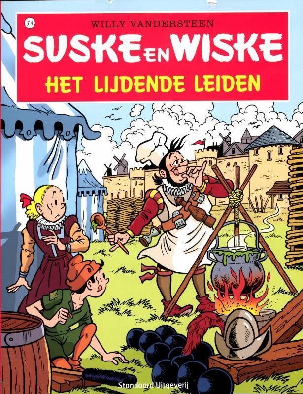 Het lijdende Leiden SUSKE EN WISKE, Willy Vandersteen, Paperback