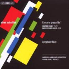CONCERTO GROSSO.. .. NO.1/SYMPHONY NO.9//HUGHES, H.A.//CAPE PHO Audio CD, A. SCHNITTKE, CD