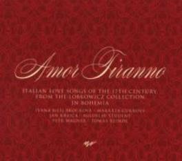 AMOR TIRANNO IVANA BILEJ BROUKOVA/MARKETA CUKROVA Audio CD, TOMAS REINDL, CD