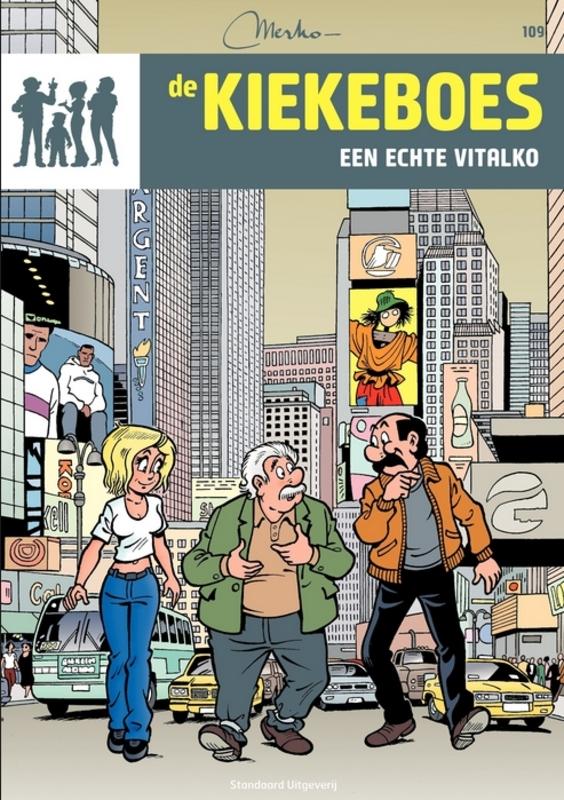 Een echte vitalko KIEKEBOES DE, Merho, Paperback
